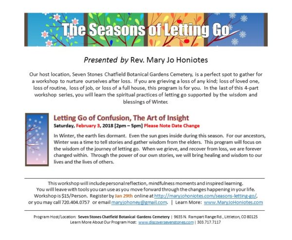 Seasons of Letting Go
