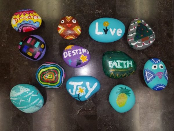 Kindness Rocks at Seven Stones